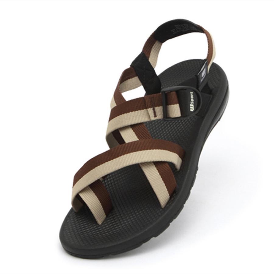 2016 Fashion Vietnam Sandals Men Outdoor Leisure Shoes Man Leisure Flip-flops High Quality Rubber Sole Beach Slippers
