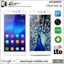 Original Huawei Honor 6 Phone 4G LTE FDD-LTE WCDMA Dual sim Kirin 920 octa core 3GB Ram 16GB/32GB ROM android 4.4 13MP/5MP OTG(China (Mainland))