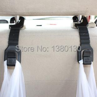 Free Shipping 2pcs Plastic Auto Car Truck Shopping Bag Holder Seat Hook Hanger Organizer The seat hook <br><br>Aliexpress
