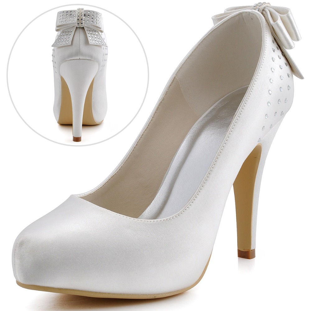 popular ivory platform wedding shoes buy cheap ivory