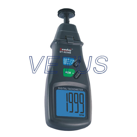 DT-6236B DT6236B photo Contact tachometer handheld tachoscope Armed with wire speed meter