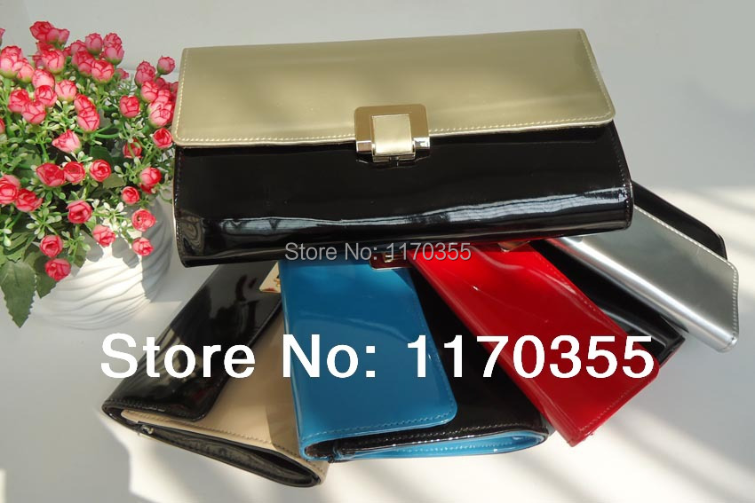 HIGH QUALITY MIRROR CLUTCH BAG,WITH METAL CLOSURE,WITH LONG CHAIN E2064 SPECIAL PRICE FOR PROMOTION(China (Mainland))