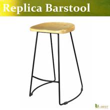 U-BEST Home Bar Furniture kitchen barstool ,tall counter chairs,Metal Barstool, Powder Coated black leg(China (Mainland))