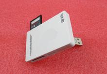 USB 2.0 one memory reader SD MINISD Card M2 TF Micro MS Reader SDHC White - YiBao Trading Ltd Store store