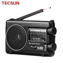 TECSUN R 305 TV Bands FM Radio Built In Speaker MW SW Portable Radio Receiver For