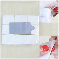 900Pcs/ Pack Nail Art Wipes Cotton Lint Paper Pad Gel Clean Polish Cleaner Remover Tip White