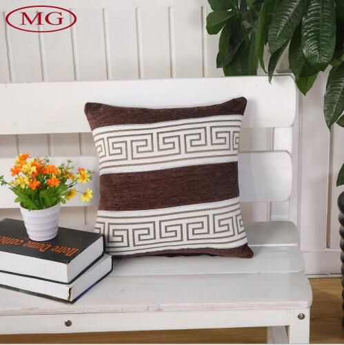 2016 Latest Design Throw Pillow Cover Classic Strip Pattern Blend Linen Cushion Covers Factory Direct Supply