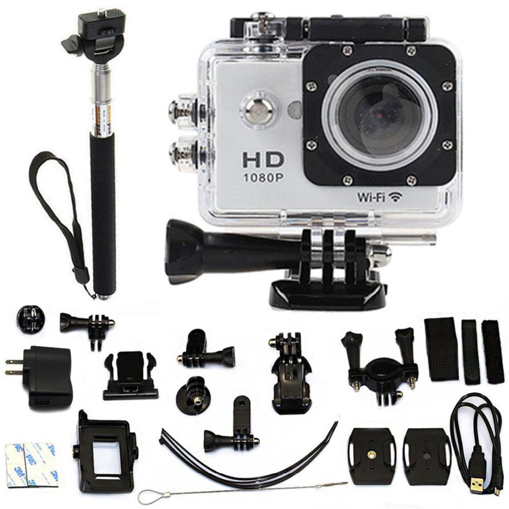 Kebo 2 0 WiFi SJ6000 w9 HD 1080P DVR Action Camera Go Sports pro Waterproof as