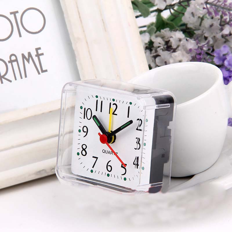Гаджет  Stylish minimalist design square Imitation crystal clock None Дом и Сад