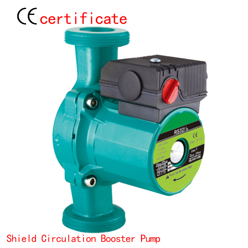 CE Approved shield circulating booster pump RS32-6,pressurized with industrial equipment,air condition,warm water,household pipe(China (Mainland))