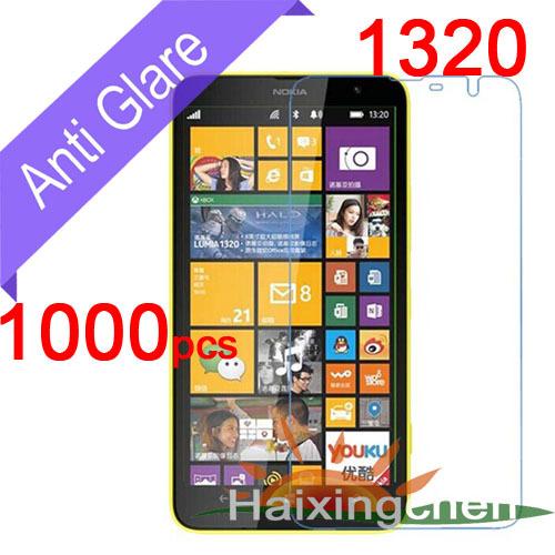 Здесь можно купить  Matte Anti-Glare Screen Protector Guard Cover Protective Film For Nokia Lumia 1320 (1000pcs Film + 1000pcs Cloth)  Телефоны и Телекоммуникации