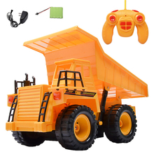 1 Piece 1:22 Remote Control Truck Wireless RC Car Transport Vehicle Engineering Dump Car Electric Toy Car(China (Mainland))