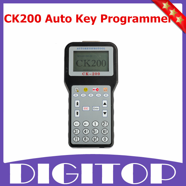 2015 New CK-200 CK200 Auto Key Programmer CK 200 Newest Generation V38.03 CK200 Auto Key Pro Tool Updated Version of CK100(China (Mainland))