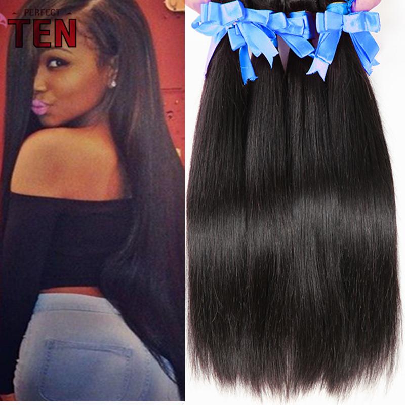 Aliexpress India Raw Virgin Indian Hair Straight 3pcs Human Hair Extension Grade 6A Indian Virgin Hair Straight Raw Indian Hair(China (Mainland))