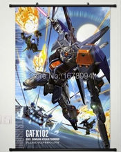 MOBILE SUIT GUNDAM SEED Home Decor Anime Japanese Poster Wall Scroll Gat