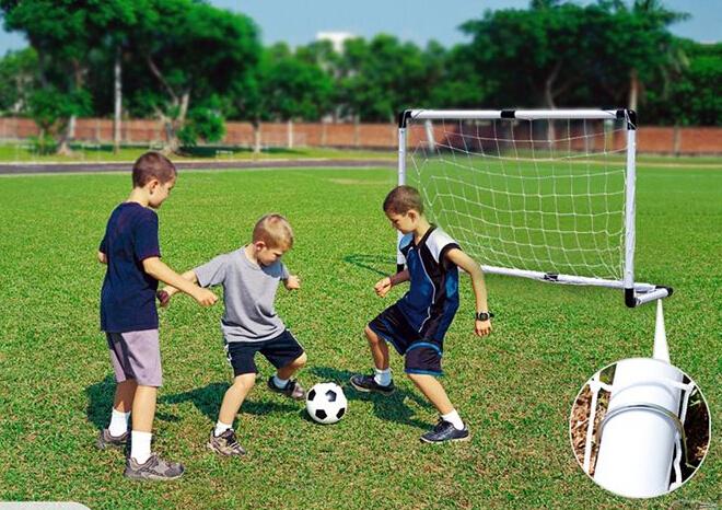 Soccer Goal & Ball Set Air Pump Portable Indoor Outdoor Futbol Child Small Size(China (Mainland))