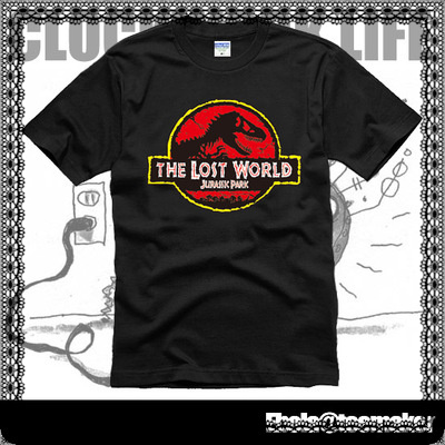 Custom T Shirt 014 New Arrival Custom Brand Jurassic Park