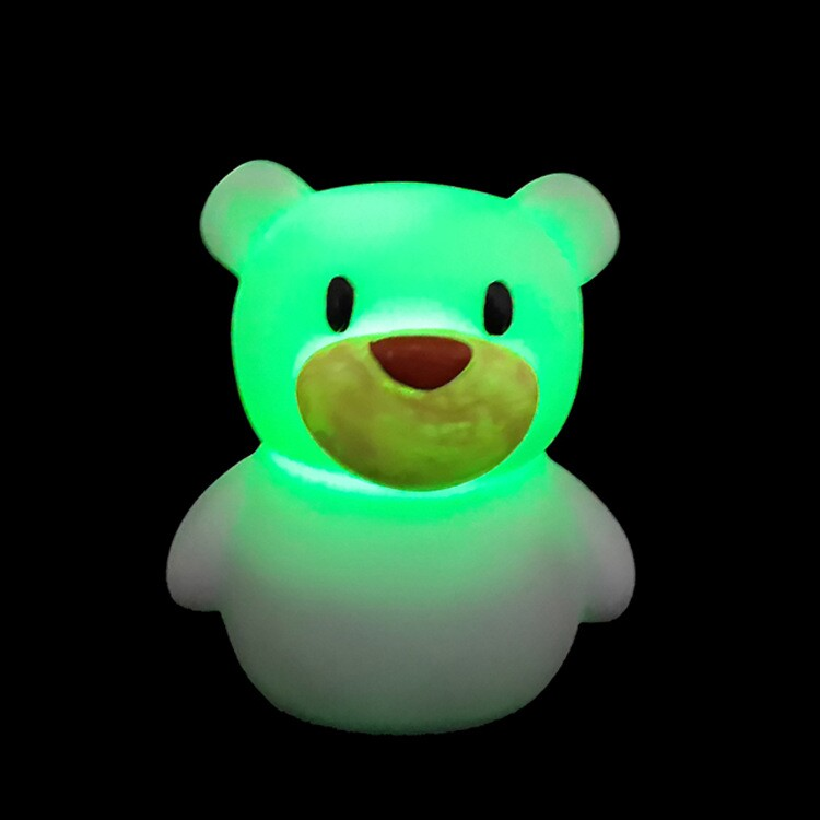 Colorful LED Flashlight portable wireless bluetooth speaker stereo audio sound Outdoor bear speaker for iphone 4 5 iPod Samsung(China (Mainland))