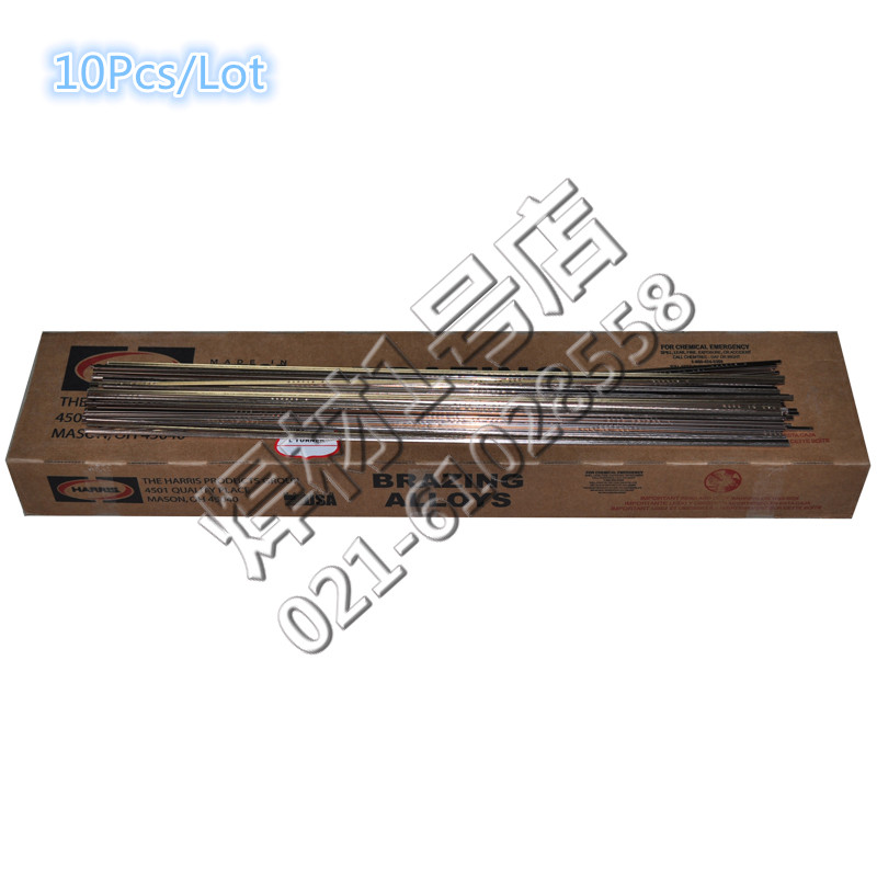 10Pcs/Lot Salable Harris Welding Rods Harris0 Phosphor Copper Electrode 1.3*3.2mm, Highly recommend(China (Mainland))