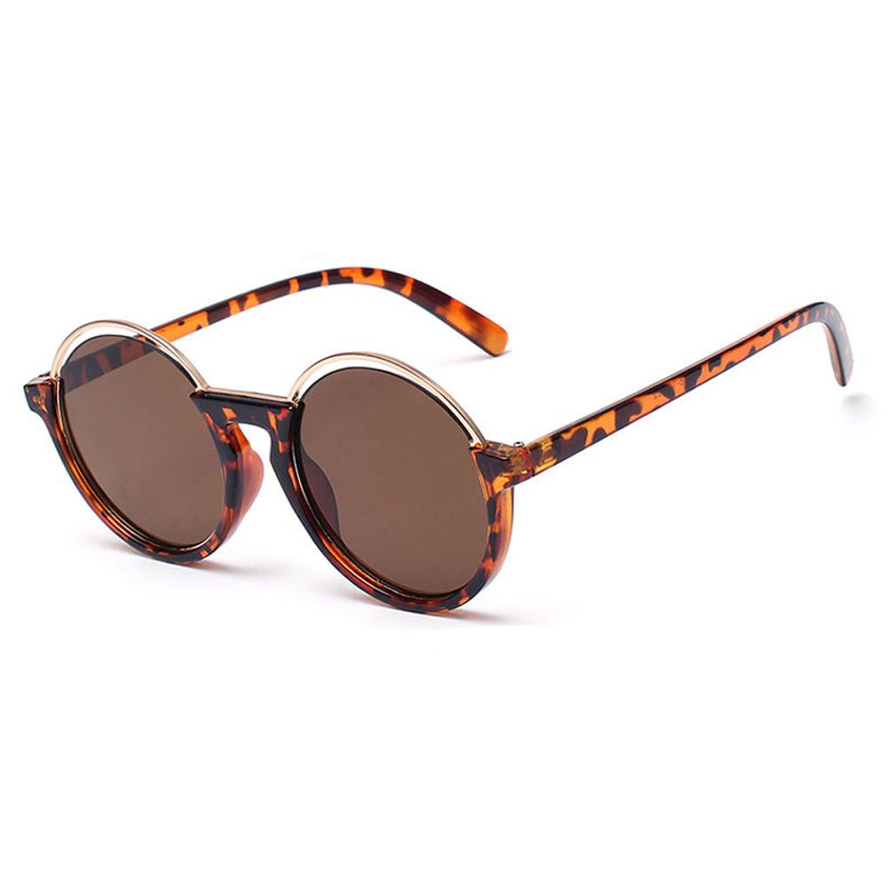 Glasses Frame Coating : Brand Retro Sunglasses Women Metal Frame Circle Round ...