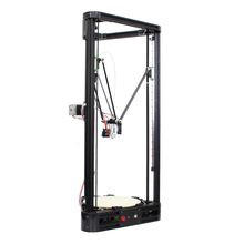 LCD Diy 3d Metal Printer Large Printing Size 3d Printer Kossel Delta 3d Printer Kit With