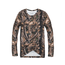 JUNGLE MAN OUTDOOR LONG SLEEVE CAMOUFLAGE REAL TREE CAMO SHIRT IN SIZE 36074