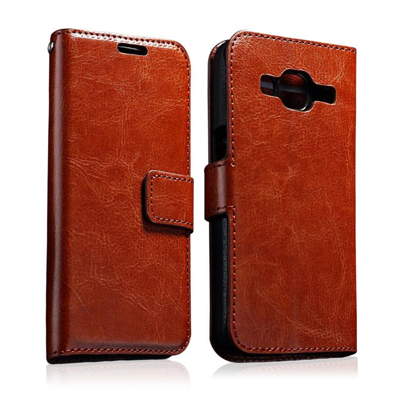 Гаджет  Luxury Retro Leather Case For Samsung Galaxy Core Prime G360 G3606 Photo Wallet Flip Stand Covers Cases Holder Phone Chair Phone None Телефоны и Телекоммуникации