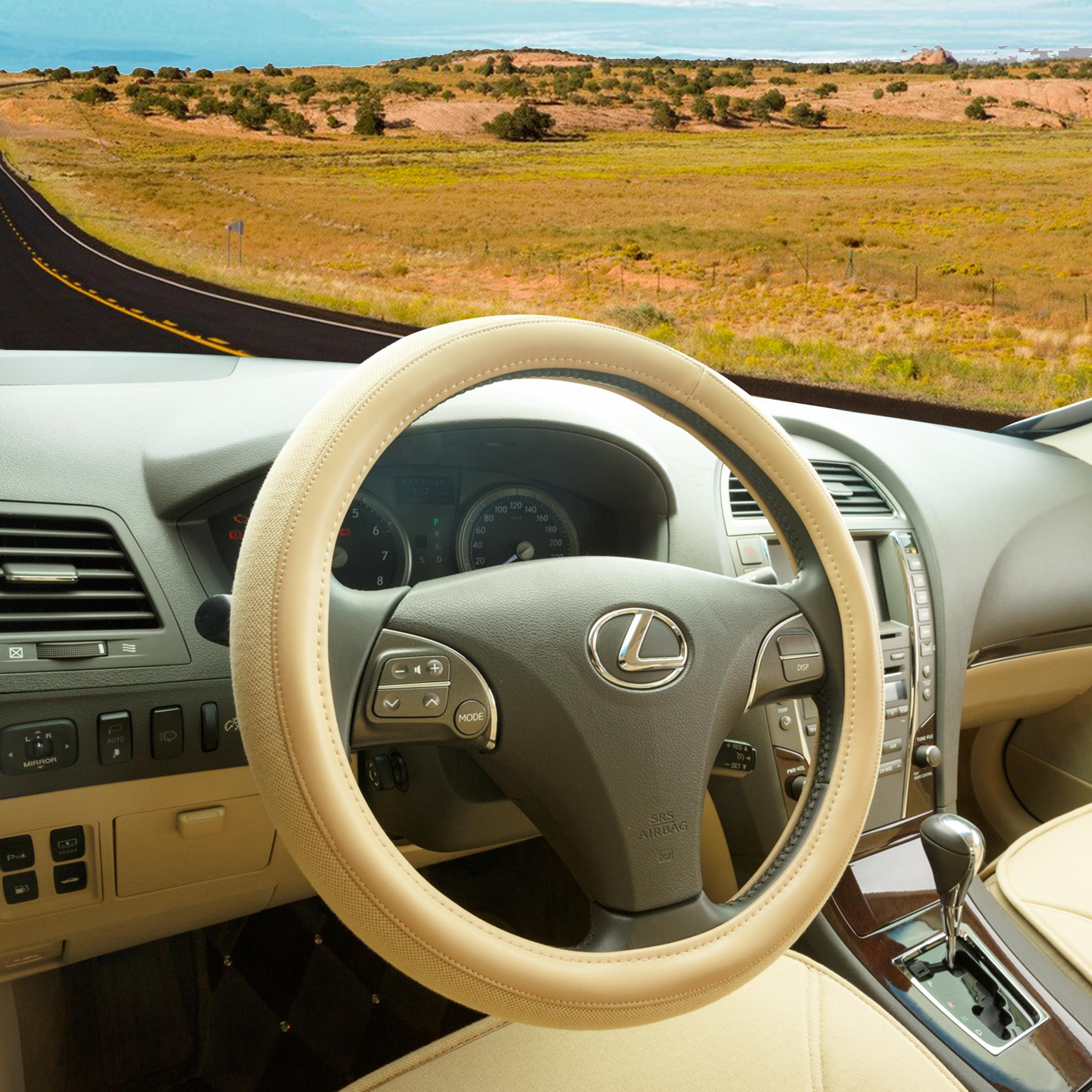 3 Brand Car Steering Wheel Cover For Volkswagen Passat Tiguan Lavida Bora Jetta Fawkes Leather Set(China (Mainland))