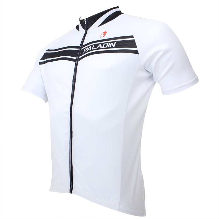 2016 PALADIN White Style Road Bike Cycling Short Sleeve Jerseys Shirt Bike Riding Top Bicycle Sportwear Jersey ropa ciclismo