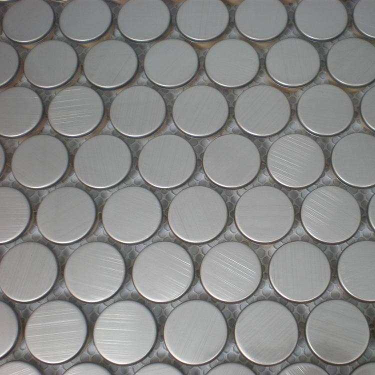 20mm silver color stainless steel metal mosaic tiles for kitchen backsplash bathroom shower bedroom living room tiles<br><br>Aliexpress