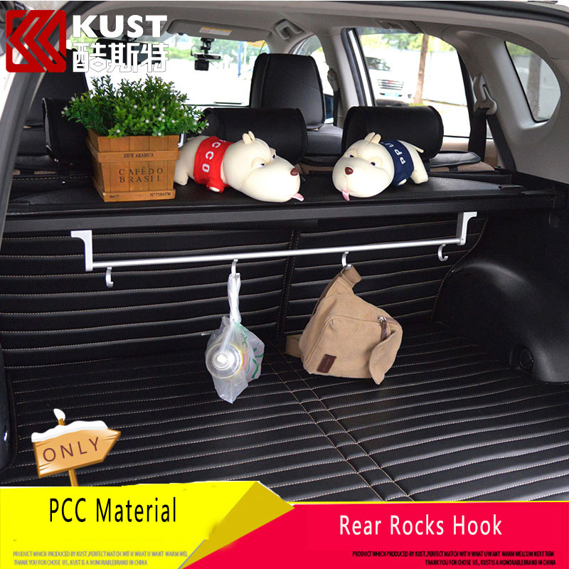 KUST Rear Trun Rocks For Honda for CRV Interior Accessories Trunk Tidy Rear Rack Luggage Support Rod For CRV 2012-2016(China (Mainland))