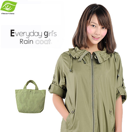 Fashion Poncho Coats For Women Nylon Raincoats With Packing Pouch Poncho Rain Wear Outdoor Poncho Blouses For Women(China (Mainland))