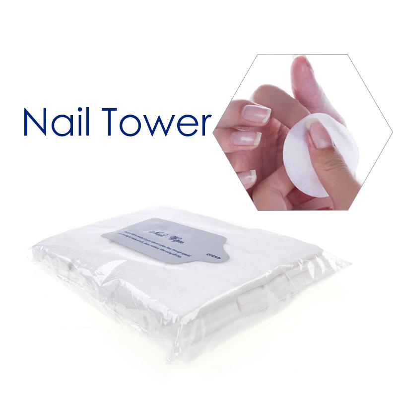900pcs/lot Nail Tools Nail Polish Remover Wipes Nail Art Tips Manicure Nail Clean Wipes Cotton Lint Pads Paper(China (Mainland))