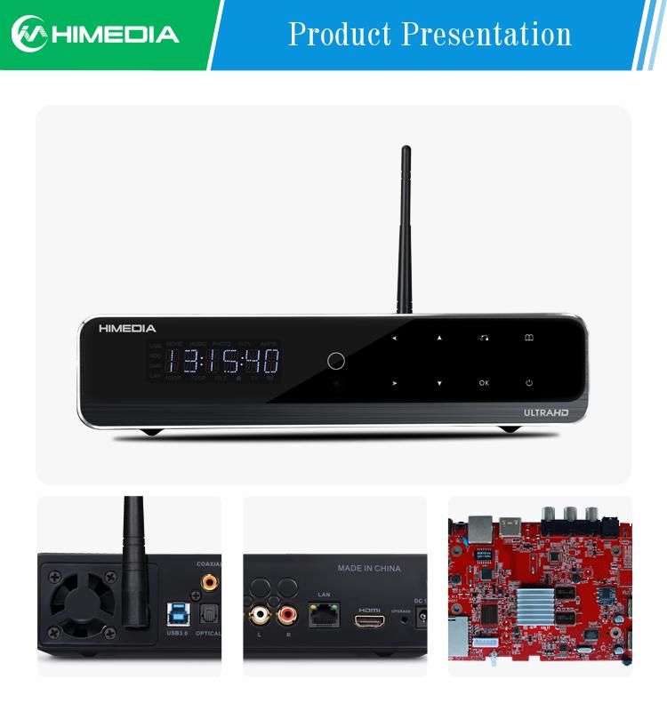 Android TV Box HIMEDIA Q10 Pro, Smart Home Network media player, Android 5.1 Hi3798CV200, Mail-T720, 2GB RAM, 16GB Flash, 4K HDR(China (Mainland))
