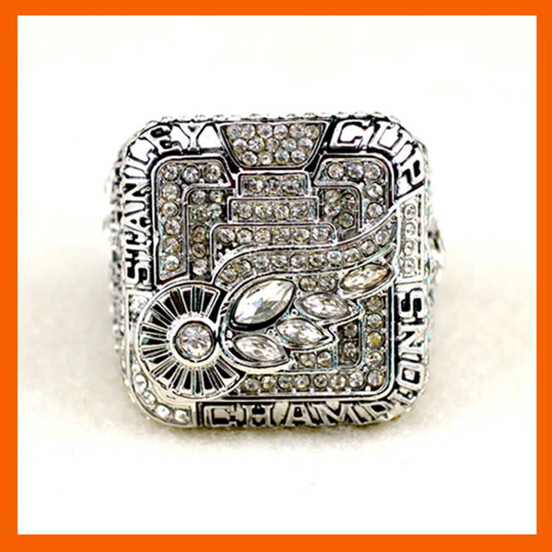 2008 Replica Ice Hockey Detroit Red Wings Championship Ring for Fans Champion Rings(China (Mainland))