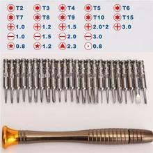 25-in-1 torx screwdriver set mobile phone repair tool kit multitool hand tools iphone watch Tablet PC,herramientas de mano - Gaga Dream store