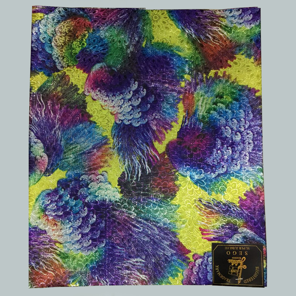 multicolored nigeria headtie,Purple&yellow nigerian head ties gele sego wrapper 2 pcs/pack LXLH1-3(China (Mainland))