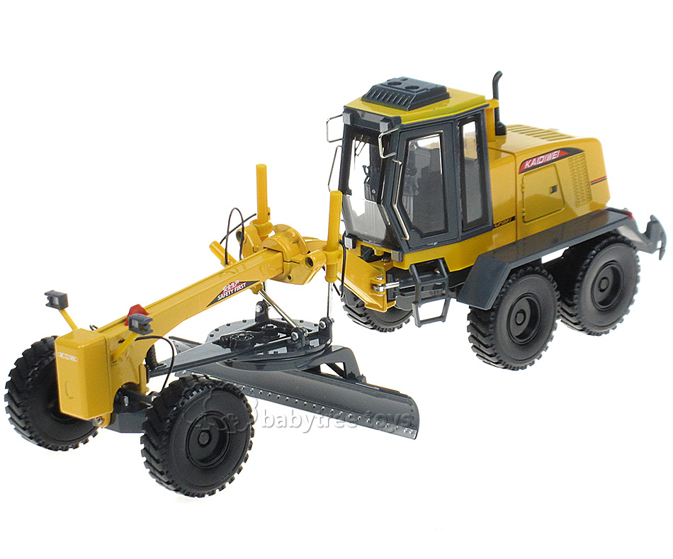 High Quality KDW 1:35 Scale Diecast Motor Grader Truck Construction Vehicle Toy Car Hobbies classic Diecast Models Car(China (Mainland))