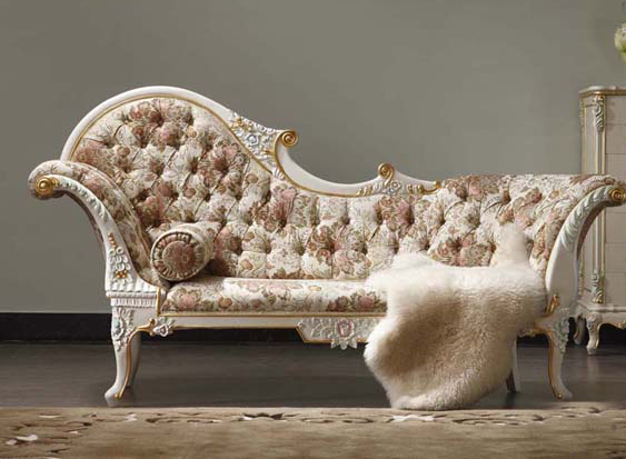 2015 Royal Italian Baroque Style Carved Wood Bed European Classical