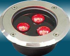 LED Underground light;3*1W;IP67