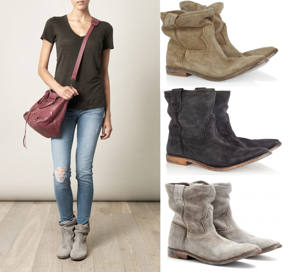 Short Ankle Boots Flat