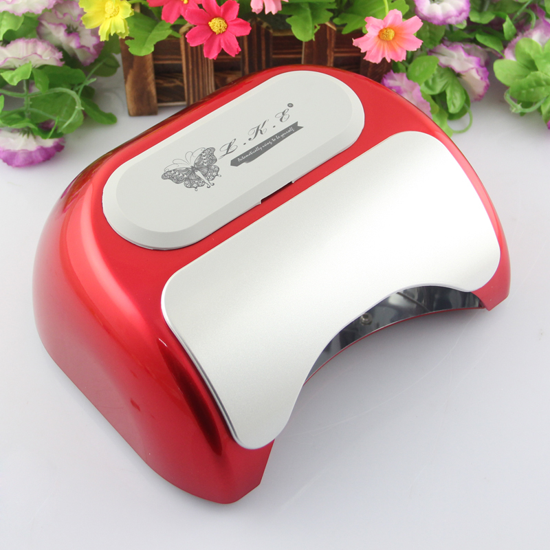 LKE Big promotion !!! 48W 18K LED Lamp Nail Harmony style Automatic Sensor Nail Dryer Lamp nail tools free shipping(China (Mainland))