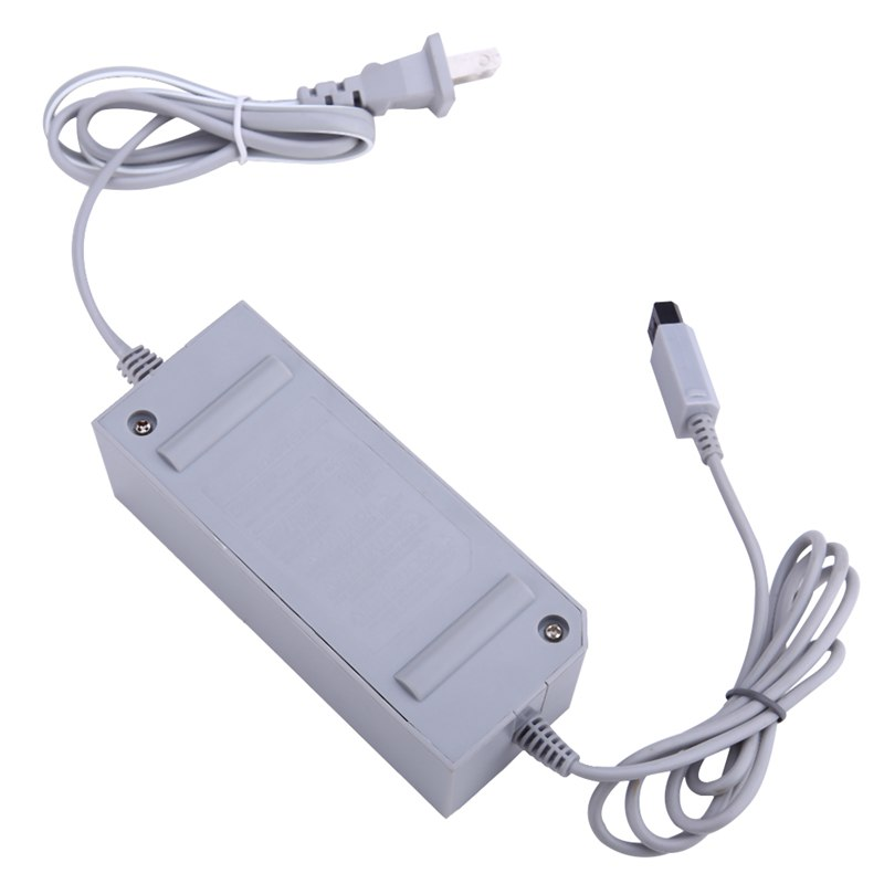 Portable US EU Plug 100-240V DC 12V 3.7A Home Wall Power Supply AC Charger Adapter Cable for Nintendo Wii Console Host(China (Mainland))