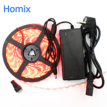 Buy Best price LED strip light 5m 60led/m smd 5050 rgb color changing waterproof 12V flexible light 5050 LED strip tape band 5m for $7.43 in AliExpress store