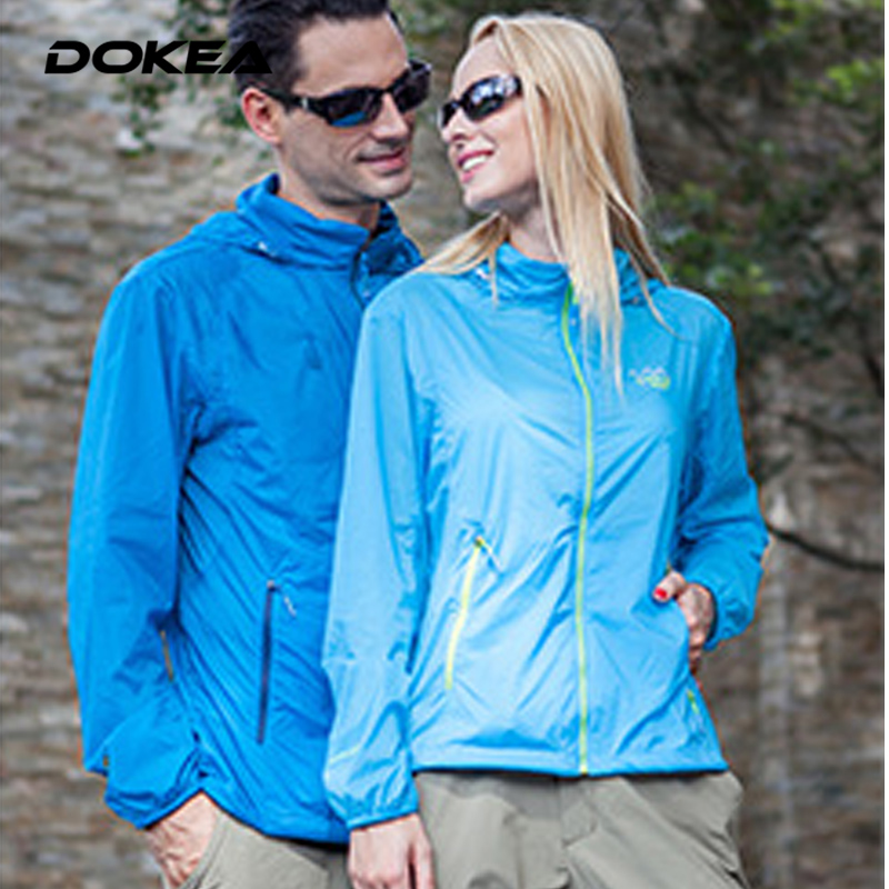 2016 Men and Women Couple Quick-drying Breathable Skin Coat UV Sunscreen Thin Stretch YN119<br><br>Aliexpress