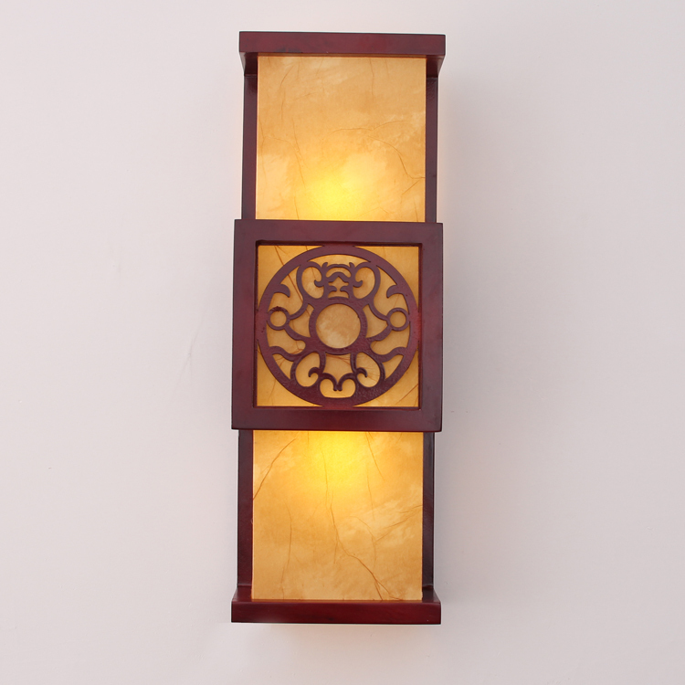 Antique Wood Wall Lamps : Chinese style antique wooden wall lamp corridor wall lamp wall lamp wall lamp 48cmX15cm-inLED ...