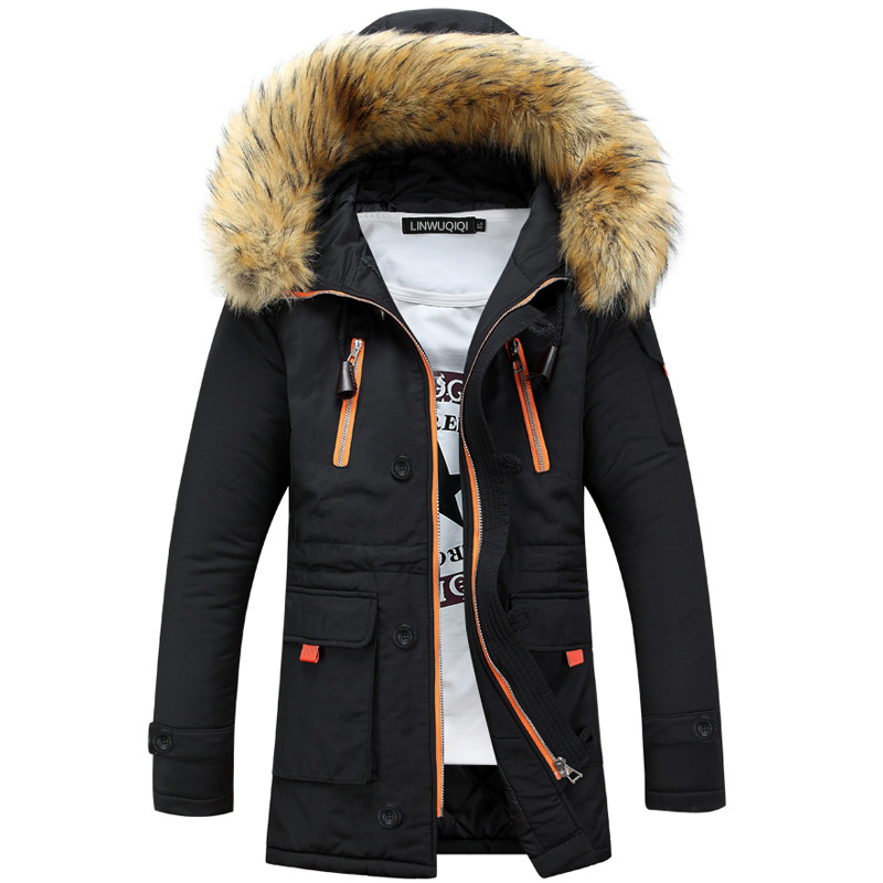 Popular Navy Fur Hood Coat-Buy Cheap Navy Fur Hood Coat lots from