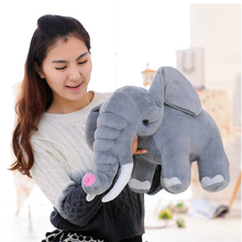 Buy 45cm Super Realistic Elephant Doll Stuffed Animal Plush Toy Baby Toy Kids Doll Elephant Toy Christmas Gift for $16.30 in AliExpress store