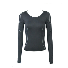 New 2015 Fashion Crivit Women Sports Bodybuilding Fitness Fit Tees Running T-Shirt Compression Base Layers Under Tops T Shirts(China (Mainland))