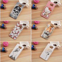 20 style cartoon phone Case For samsung galaxy s6 G9250 G9200 Mobile Phone Accessories back cover For hello kitty Marilyn Monroe